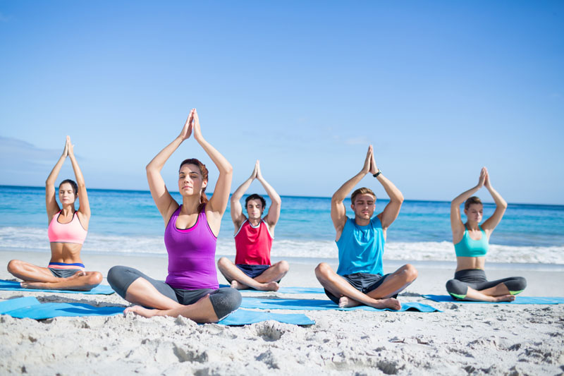 Four Reasons to Practice Beach Yoga