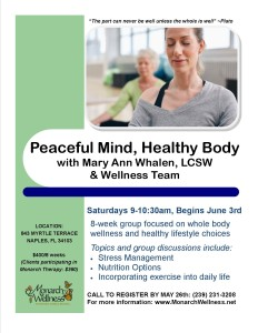 relaxation-PEACEFUL MIND, HEALTHY BODY FLYER